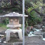 小唄 江戸川お稽古場 燈篭