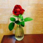 赤い薔薇☆