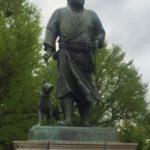上野公園の銅像